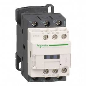 Contactor 3P 12A 1NA/1NC 230V  Schneider LC1D12P7