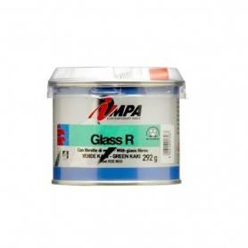 Masilla Poliéster reforzada con fibra de vidrio Impa GLASS R 200g Miarco 24398