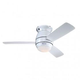 Ventilador de Techo Westinghouse Halley 72180 Blanco