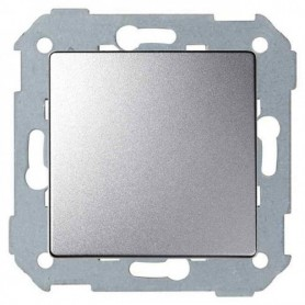 Conjunto semi-montado de interruptor unipolar+tecla 8200101-093 Aluminio Simon 82 Concept