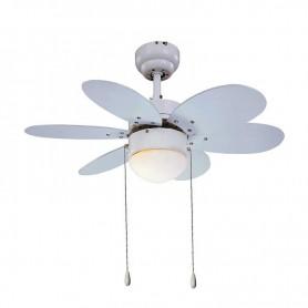 Ventilador de techo Sulion 075155 RAINBOW Blanco